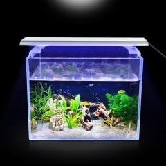 Aquarium LED Timing Light mit ausziehbaren Halterungen 10W / 19W